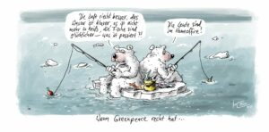 Karikatur: ©Klaus Stuttmann