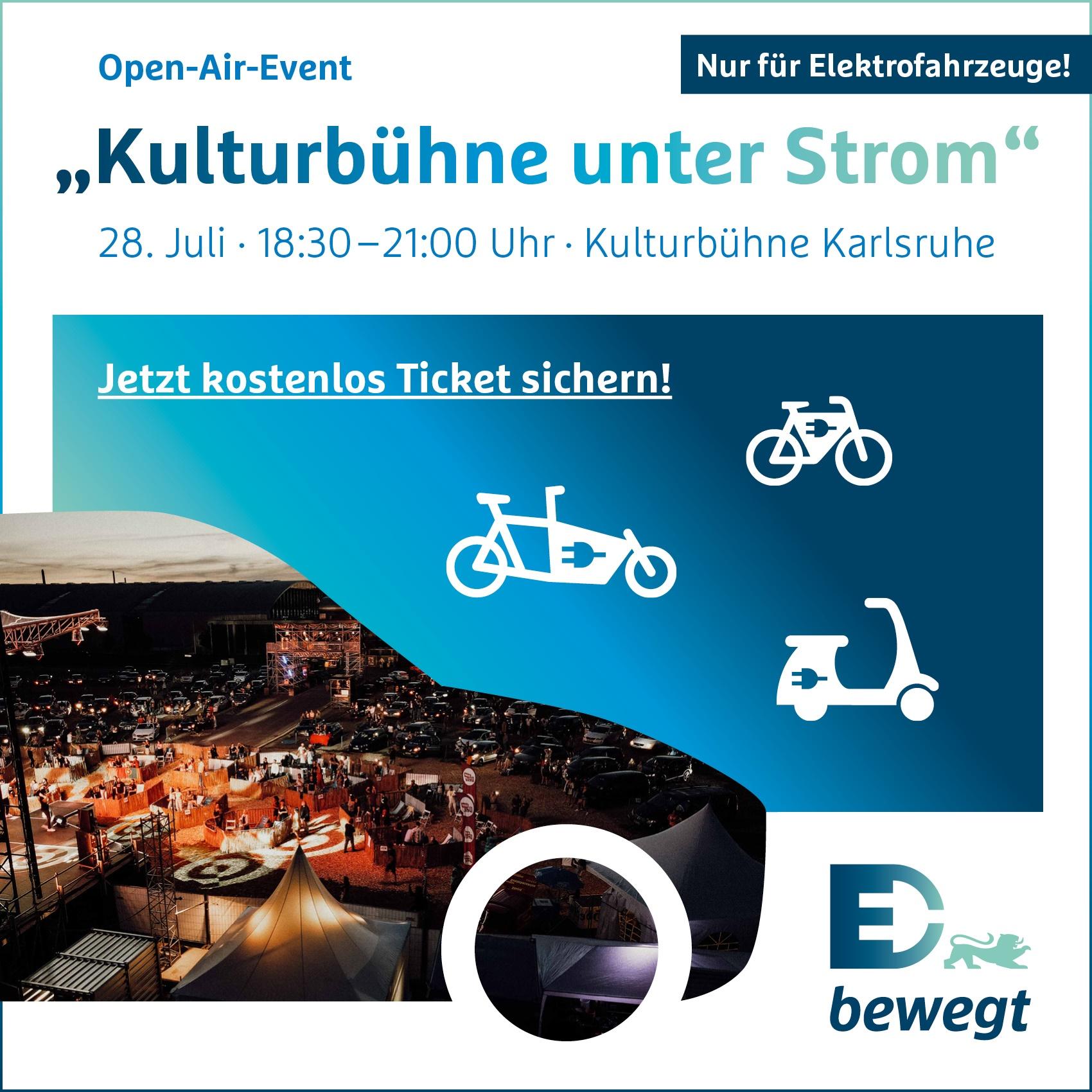 """Open-Air-Event """"Kulturbühne unter Strom"""""""
